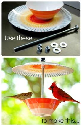 birdfeeder collage